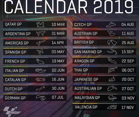 Calendario Moto Gp 2019.Best Apps To Watch Motogp Online On Android Phones And Tablets
